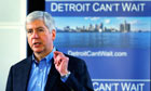Rick Snyder on Detroit financial emergency