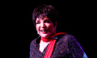 Liza Minnelli at the Royal Festival Hall