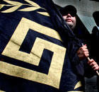 Golden Dawn member, Athens 21/4/12