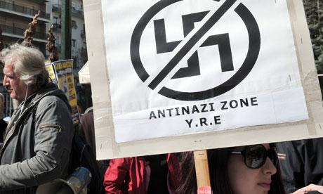 Anti-racism activists, Athens 4/3/13