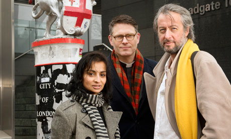 City Reform Group: Shanaz Khan, William Taylor and Jonathan Myerson, who are running in elections