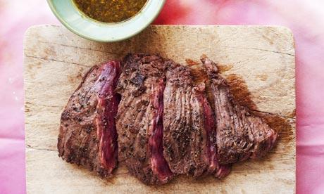 how to cut bavette steak