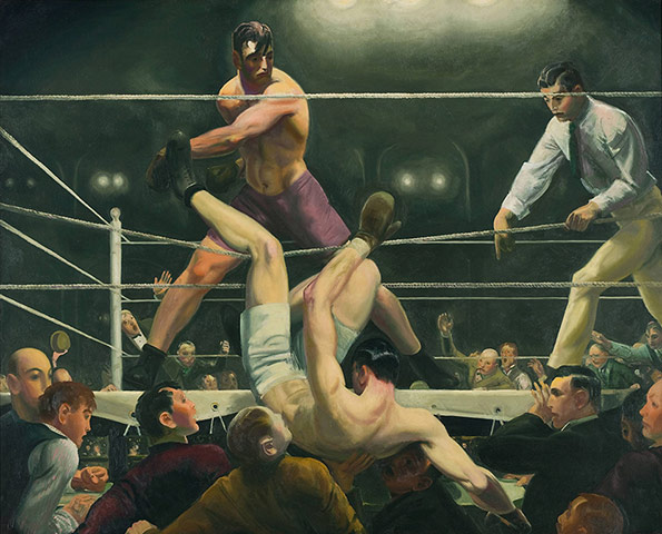 George Bellows: George Bellows, Dempsey and Firpo, 1924