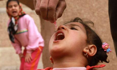 Polio vaccination campaign in Herat