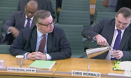 Michael Gove and Chris Wormald