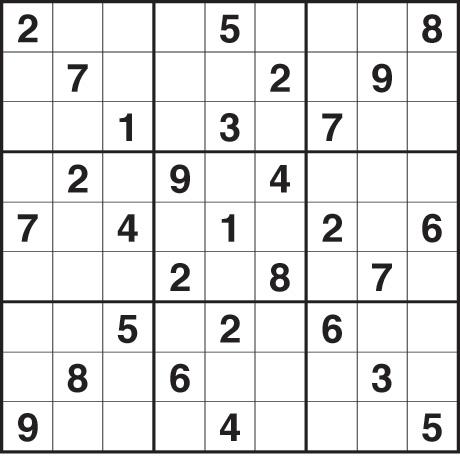 sudoku 2,456 medium