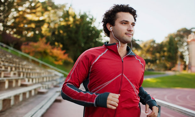 listen to music when exercising