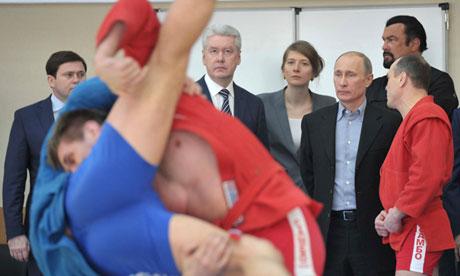 Steven Seagal Vladimir Poutine Où Ai-Je La Tête ?