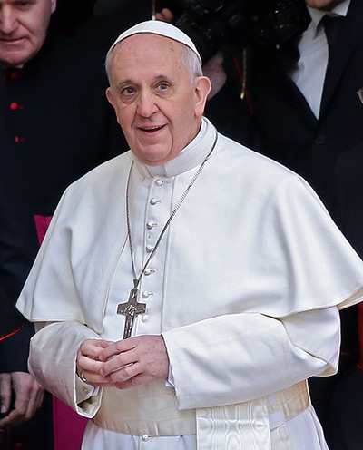 Pope Francis first day: Newly elected Pope Francis, Cardinal Jorge Mario Bergoglio