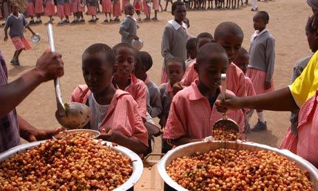 School meal Africa