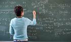 Maths on blackboard