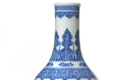 Chinese vase tennants