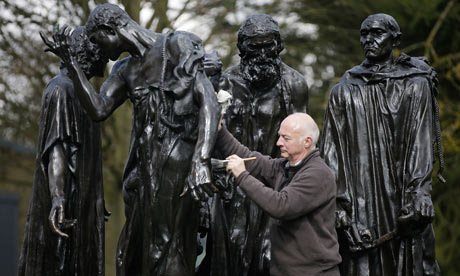 Rodin's The Burghers