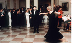 (FILE) 10 Princess Diana Dresses Up For Auction Diana And John Travolta Dance