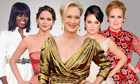 Michelle Obama, Jennifer Lawrence, Meryl Streep, Mila Kunis and Adele
