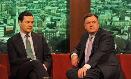 George Osborne and Ed Balls