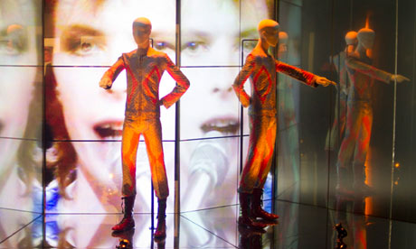 David Bowie exibition at the V&A