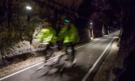 le tunnel le plus long de la Grande-Bretagne pour les vélos Combe-down-bath-008