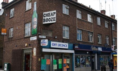 cheap alcohol shop