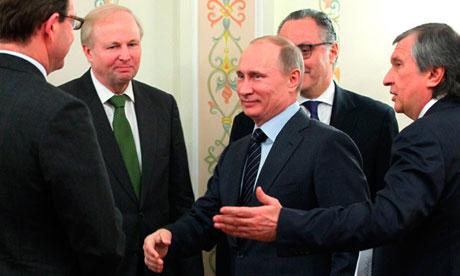 Rosneft deal