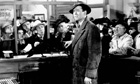 Bank run scene from It's a Wonderful Life