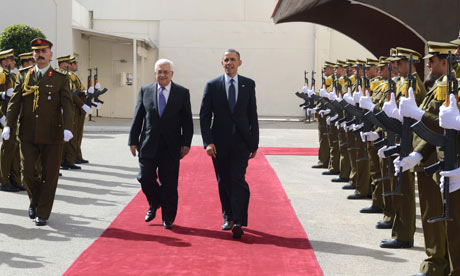President Barack Obama visit to West Bank, Palestinian Territories - 21 Mar 2013