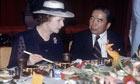 Margaret Thatcher in China - 1982