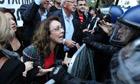 Cyprus crisis protestor