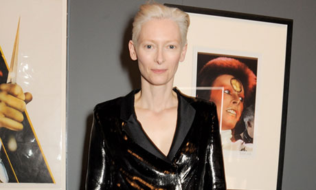 Tilda Swinton sleeps in glass box for art installation at MoMA