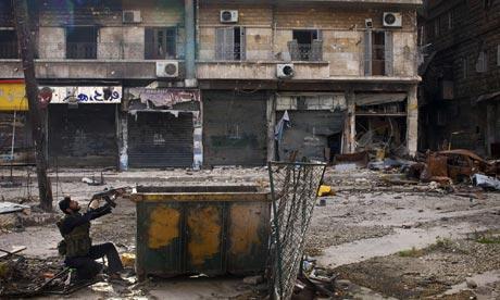 Syrian rebel, Aleppo 16/3/13