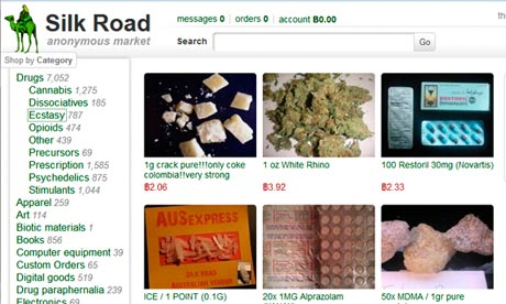 Silk Road Anonymous Marketplace: March 2013