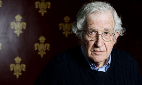 Noam Chomsky: 'No individual changes anything alone' Noam Chomsky is one of the world's most controversial thinkers. Now 84, he reflects on his life's work, on current events in Syria and Israel, and on the love of his life – his wife