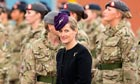 The Countess Of Wessex presents Afghanistan medals to army medics