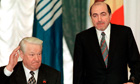 Boris Berezovsky and Boris Yeltsin
