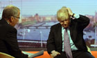 Boris Johnson is interviewed by Eddie Mair on BBC1's The Andrew Marr Show