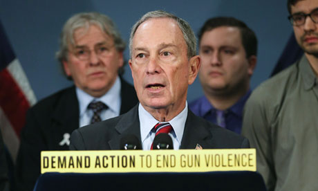 Michael Bloomberg gun violence