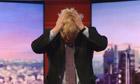 Boris Johnson on the Andrew Marr show