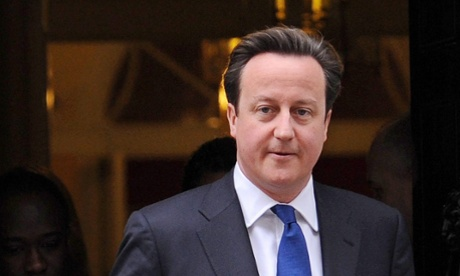 David Cameron is making a speech on immigration.