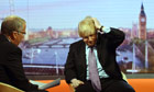 Boris Johnson and Eddie Mair on Andrew Marr show
