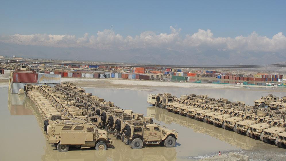 Bagram Air Base Afghanistan City