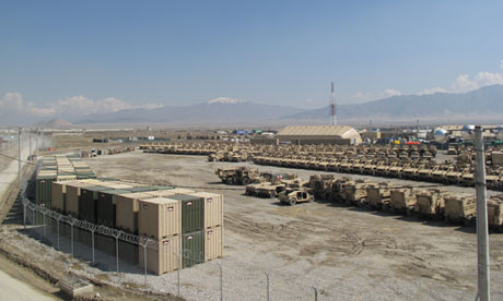 American Military Bases in Afghanistan