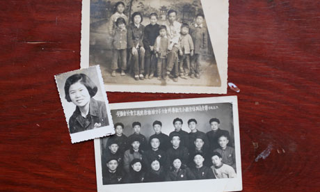 Zhang Hongbing family photos
