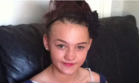 Jade Lomas-Anderson, 14, who was found dead at a house in Atherton ...