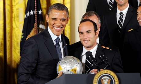 Landon Donovan Barack Obama LA Galaxy