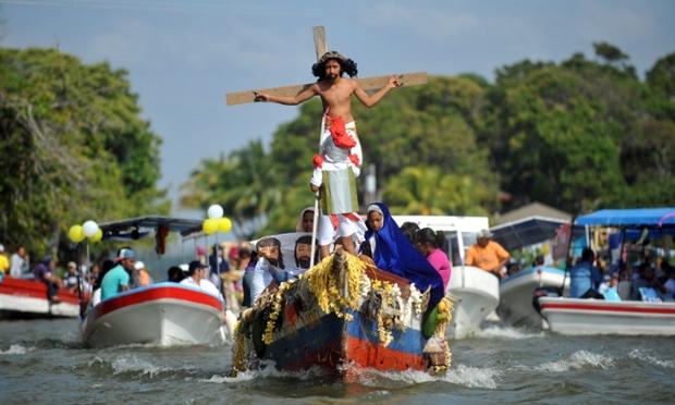 Holy Week celebrations.