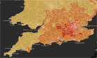 Bedroom tax interactive map