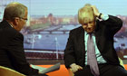 Eddie Mair and Boris Johnson on the Andrew Marr Show