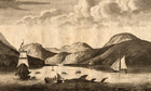 shark hunt on Arran, 1770