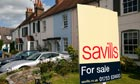 Savills estate agency sign