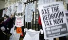 anti bedroom tax protests